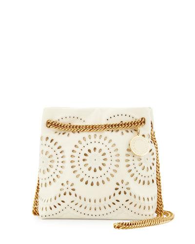 Noma Eyelet Crossbody Bag, Ivory
