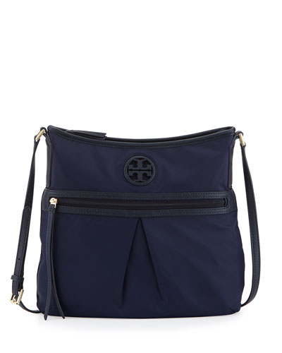Nylon Swing Pack Crossbody Bag, Tory Navy