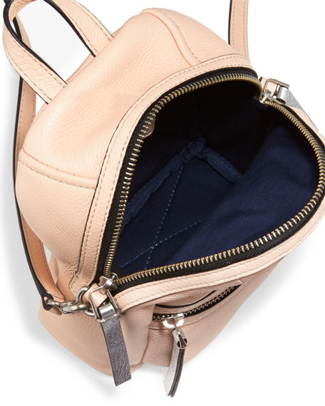 Domo Biker Cross Backpack, Pearl Blush
