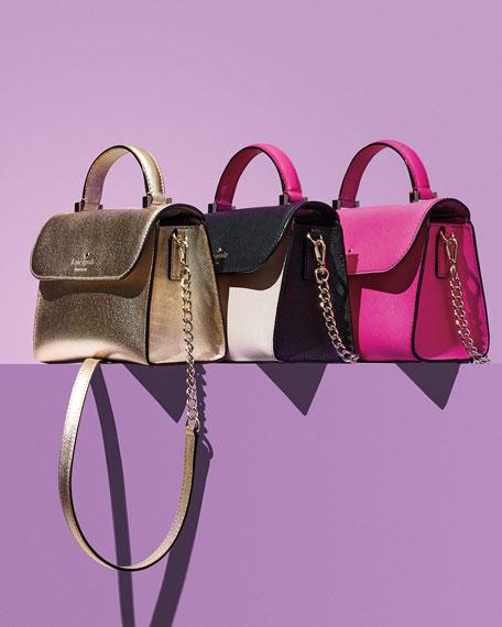 cedar street nora mini crossbody bag, pink
