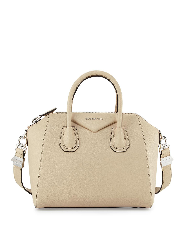 840ada420d Givenchy Antigona Small Sugar Goatskin Satchel Bag