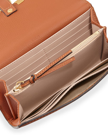 Image 2 of 2: Marcie Continental Flap Wallet, Tan