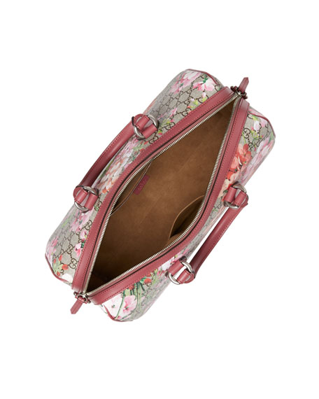 Image 3 of 5: Blooms GG Supreme Small Top-Handle Bag, Multi Rose