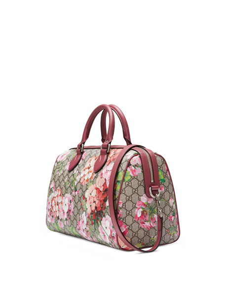 Blooms GG Supreme Small Top-Handle Bag, Multi Rose