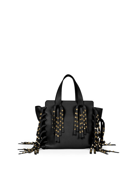 red ysl - Black Fringe Bag | Neiman Marcus