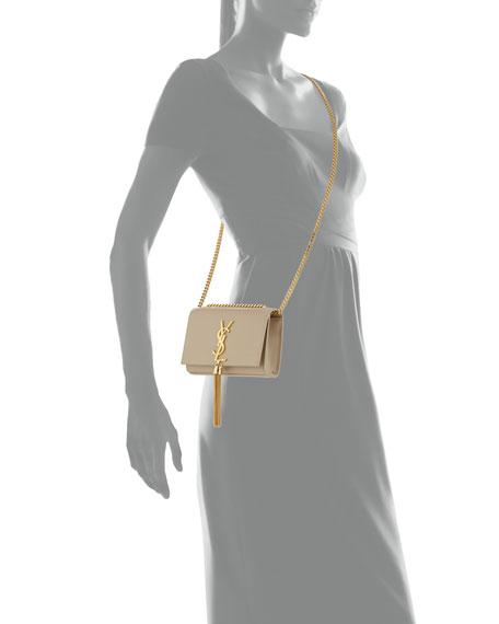 Saint Laurent Monogram Small Tassel Crossbody Bag