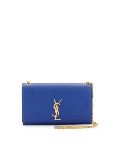 Monogram Medium Chain Shoulder Bag, Cobalt
