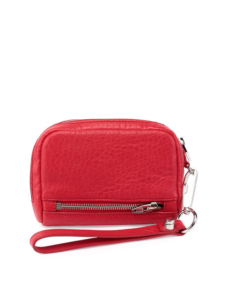 Alexander Wang Fumo Large Zip-Around Wristlet Wallet, Cult