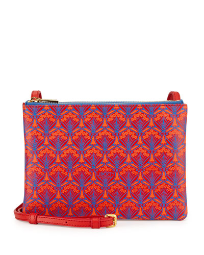Bayley Duo-Pouch Crossbody Bag, Red