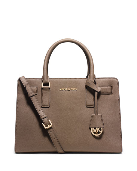 MICHAEL Michael Kors Dillon East-West Saffiano Satchel Bag,
