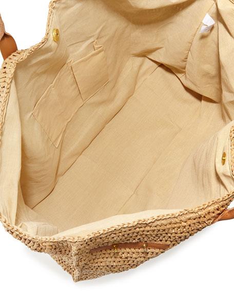 Vix Capri Straw Beach Bag
