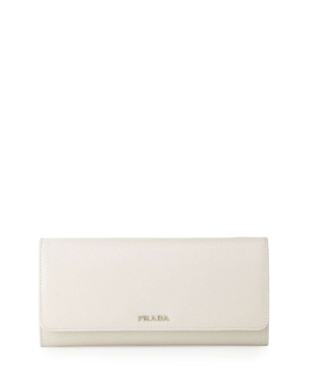 44072792f4488 Prada Saffiano Bicolor Wallet-on-a-Chain