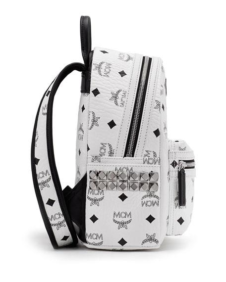 Stark Visetos Small Side-Stud Backpack