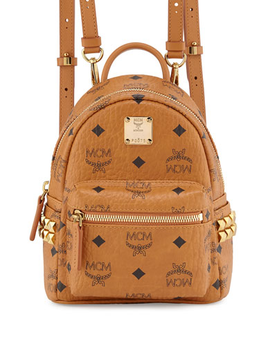 Stark Side-Stud X-Mini Backpack, Cognac