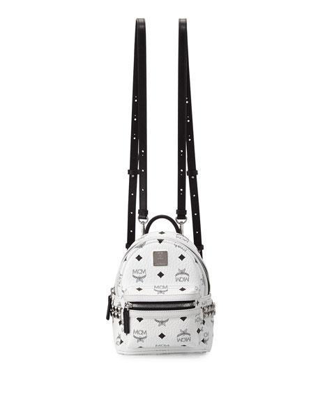 Stark X-Mini Side Stud Backpack, White