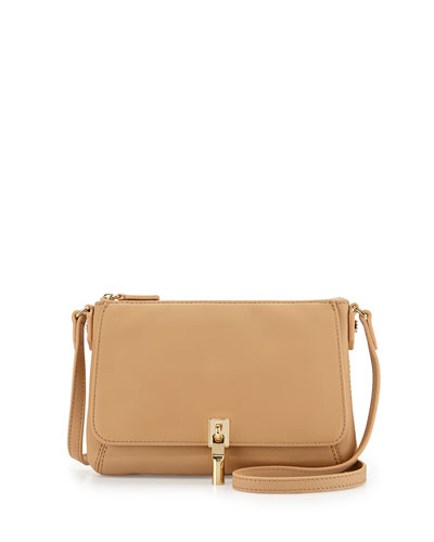Cynnie Micro Crossbody Bag, Natural