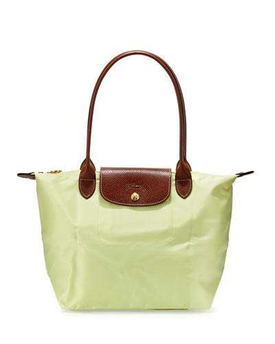 Le Pliage Medium Shoulder Tote Bag, Anise
