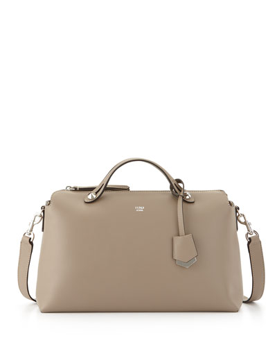 Fendi By The Way Large Satchel Bag, Dove