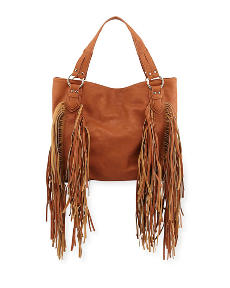 Urban Originals Castaway Faux-Leather Tote Bag, Tan
