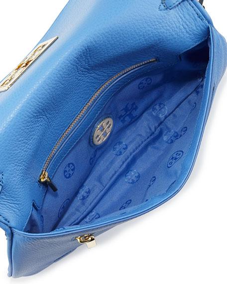 ce9f07d06ac1 Tory Burch Britten Leather Flap Clutch Bag