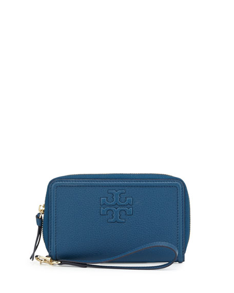 Tory BurchThea Zip-Around Smartphone Wristlet, Tidal Wave