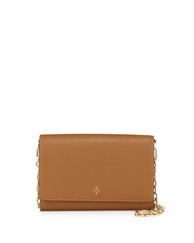 Robinson Saffiano Wallet-On-Chain, Tiger's Eye