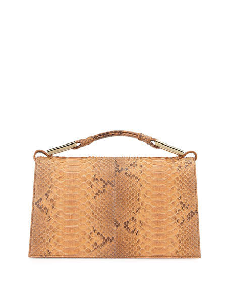 Jason Wu Charlotte Python Evening Clutch Bag, Luggage
