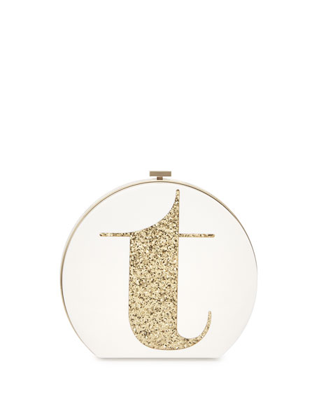 kate spade new york evening bells initial clutch
