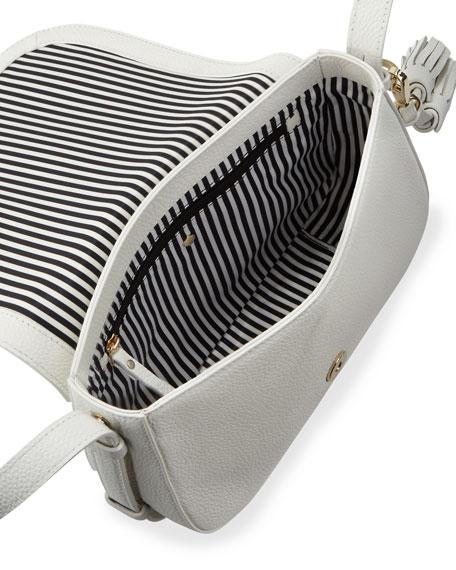 orchard street penelope crossbody bag, bright white