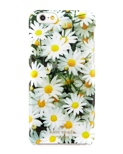 daisies resin iPhone 6 case, multicolor