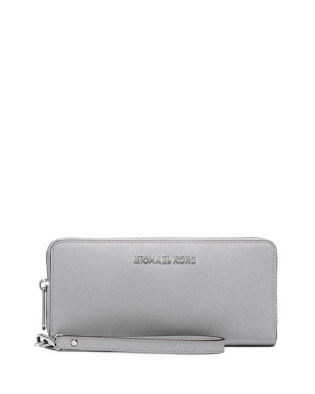 Jet Set Travel Continental Wallet, Dove