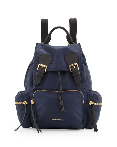 Nylon Backpack, Ink Blue