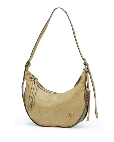 Frye Belle Bohemian Crossbody Bag, Moss