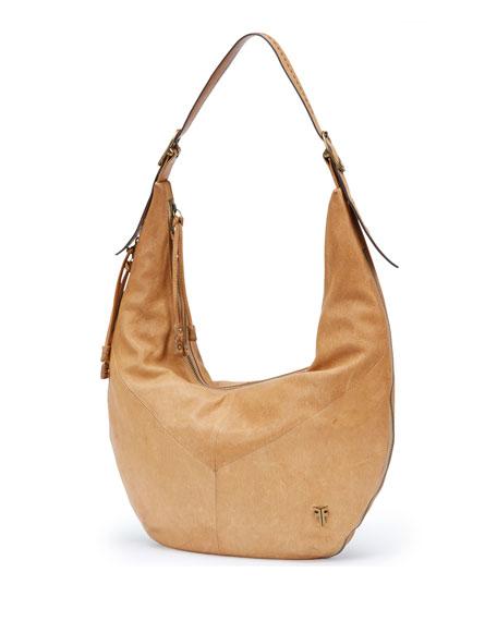 Frye Belle Bohemian Crossbody Bag, Beige