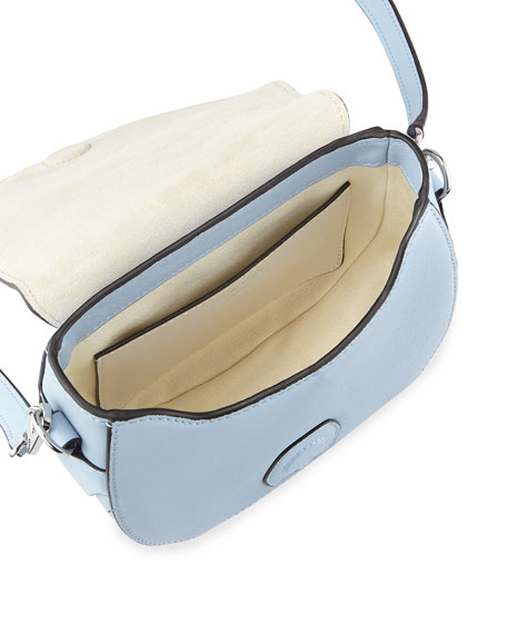 Mini Flight Saddle Bag, Light Blue