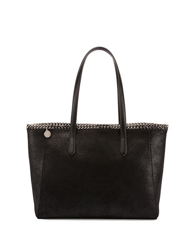 East-West Shopper Bag, Black