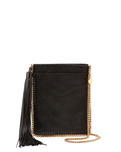 Tassel Fringe Shoulder Bag, Black