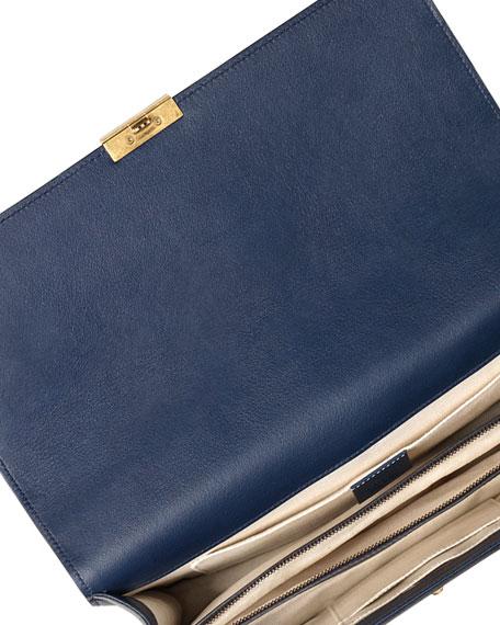 clhoe bag - Blue Leather Shoulder Bag | Neiman Marcus