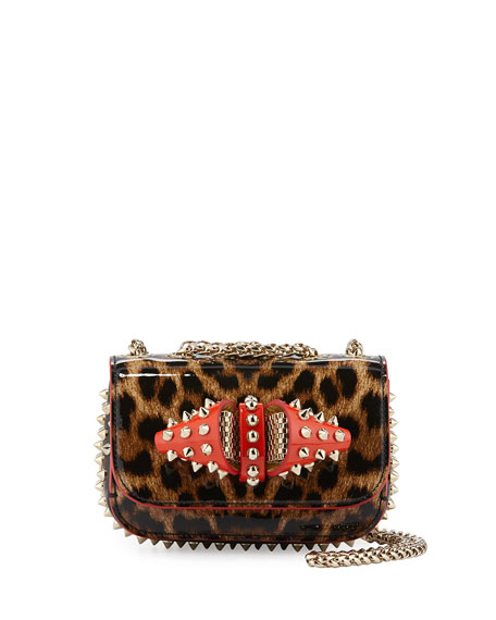 Christian Louboutin Sweet Charity Patent Leather Shoulder Bag,