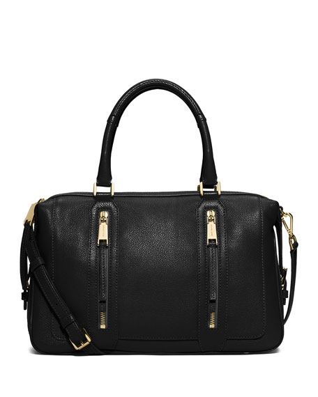 MICHAEL Michael Kors Julia Large Leather Satchel Bag,