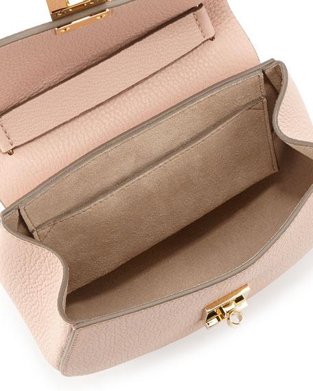 85ae81c9 Drew Mini Lambskin Shoulder Bag Cement Pink