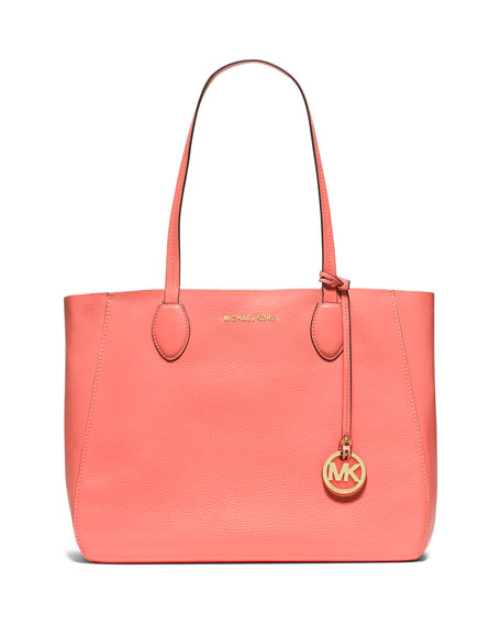 MICHAEL Michael KorsMae Large Bicolor Tote Bag, Pink