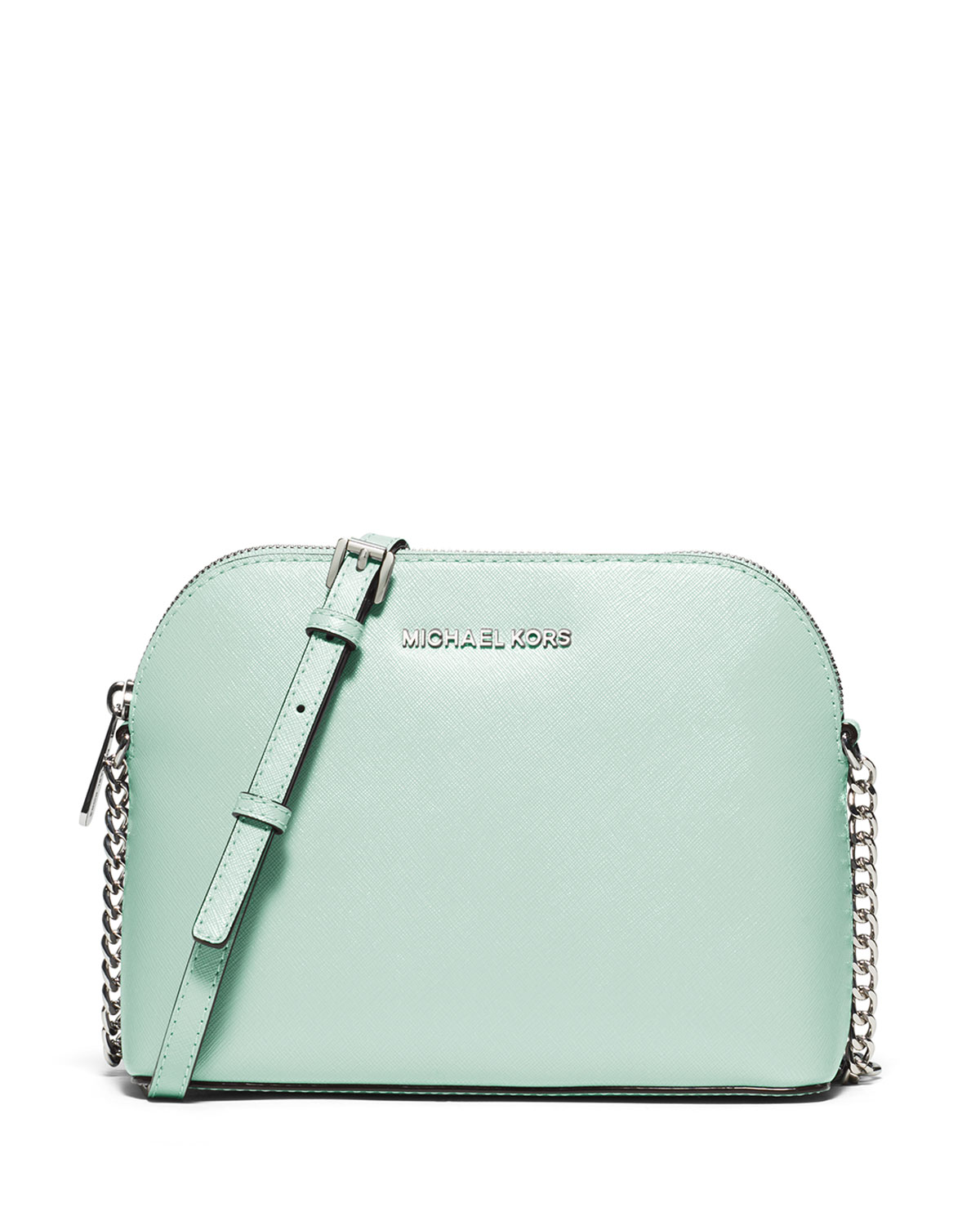 aa95fbd19628 MICHAEL Michael Kors Cindy Large Dome Crossbody Bag, Celadon ...