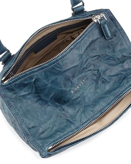 Pandora Small Satchel Bag, Mineral Blue