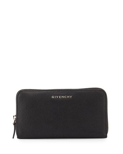 Pandora Zip-Around Wallet, Black