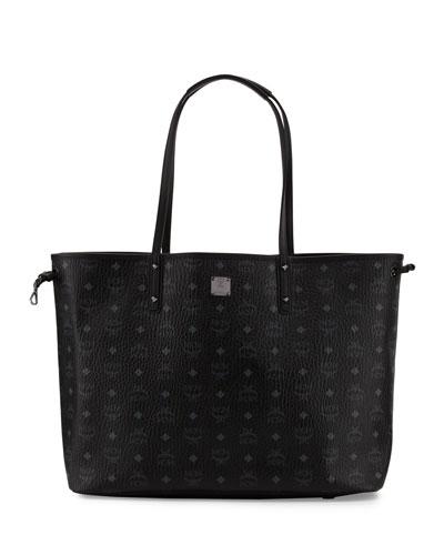 Large Reversible Shopper Bag, Black