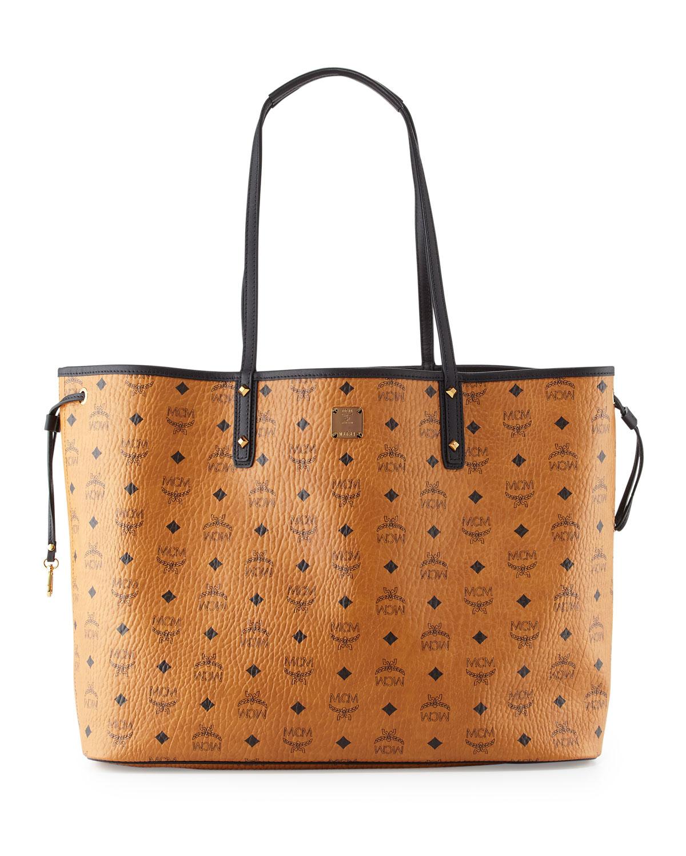 MCM Large Reversible Shopper Tote Bag fbe43696e221c