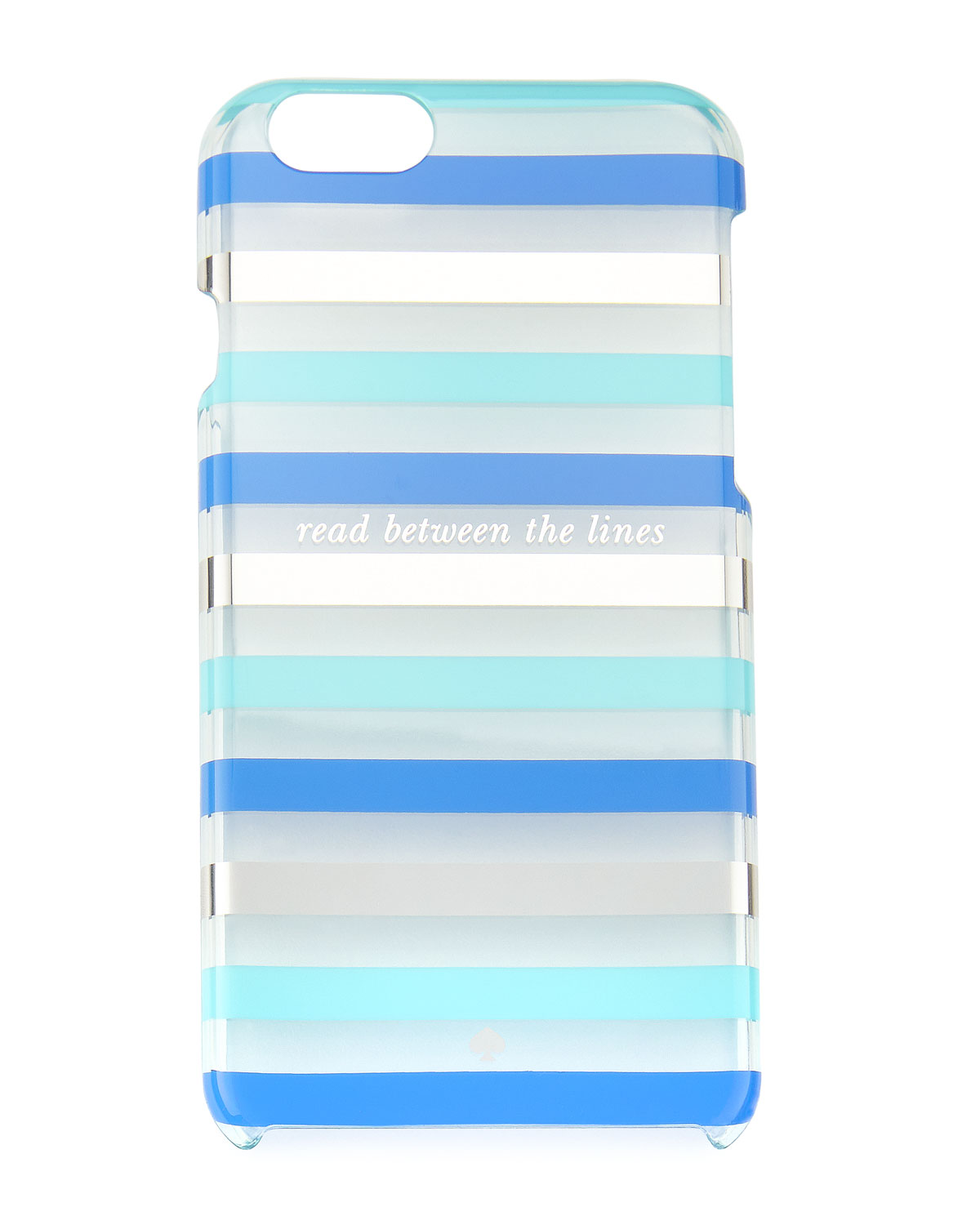 Reading Between Lines In New Yorkers >> Kate Spade New York Read Between The Lines Iphone 6 6s Case Blue