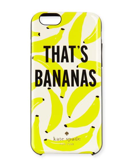 that's bananas iphone 6/6s case, cream/multi