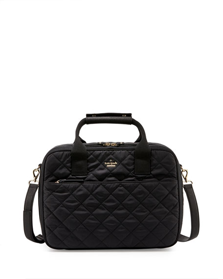 kate spade new york ridge st. scottie quilted travel tote bag ... : quilted travel tote - Adamdwight.com